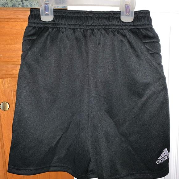Padded Adidas Goalie Shorts